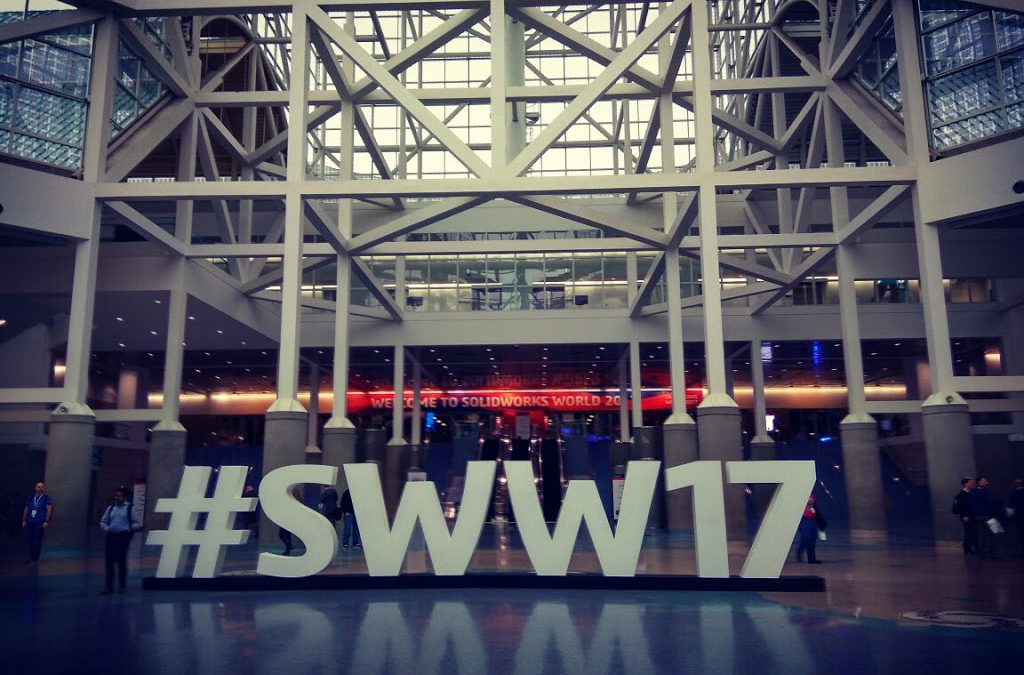 SOLIDWORKS WORLD 2017 – Here we come!