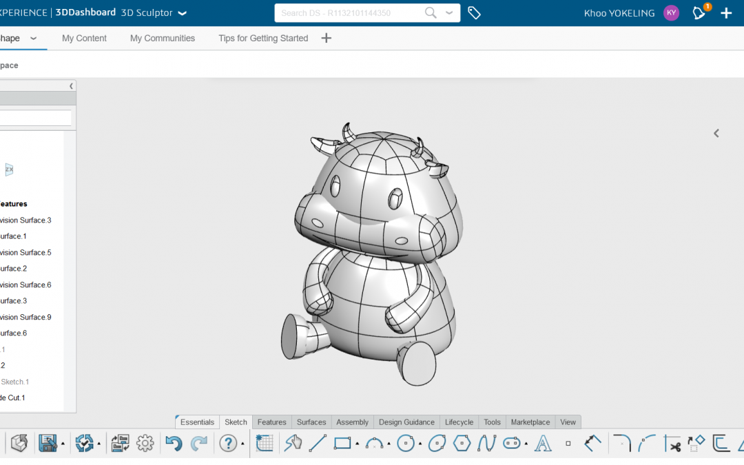 3DEXPERIENCE Design Solutions: Designing Zodiac 2021 on the 3DEXPERIENCE Platform