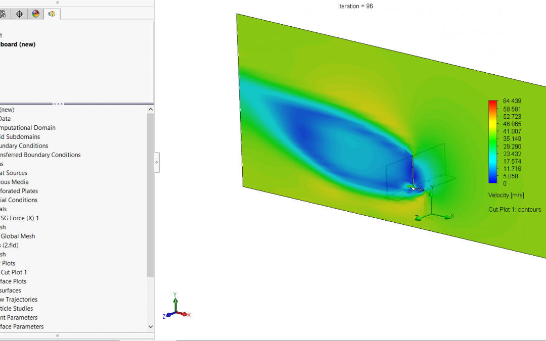 How to use SOLIDWORKS Flow Simulation Results in a Static Stress Analysis