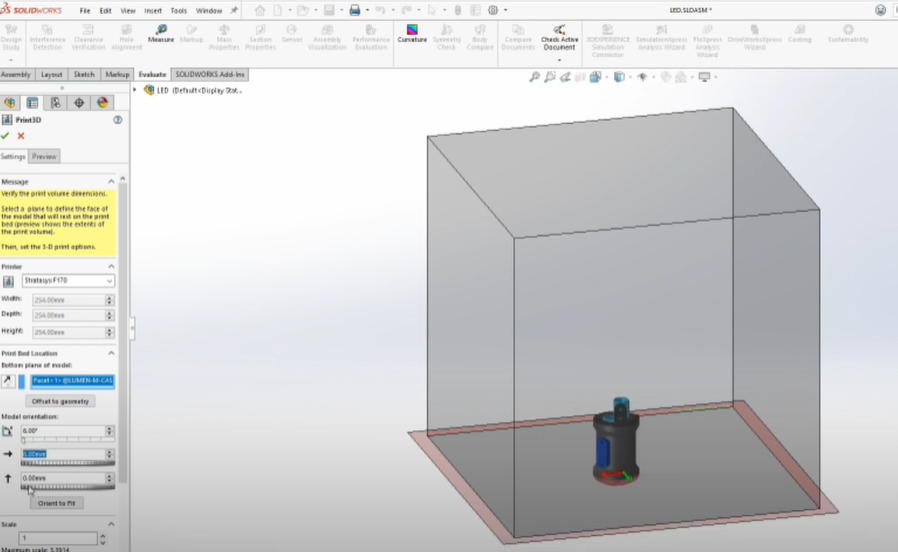 3D Printing in SOLIDWORKS